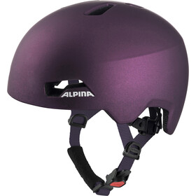 Alpina Hackney Casque Enfant, dark-violet